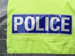 Man in custody after being caught with imitation firearm in Mid Wales