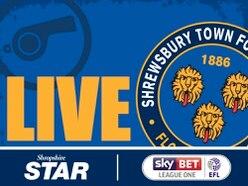 Rotherham 1 Shrewsbury Town 2 - As it happened