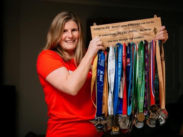 Sian's race for Severn Hospice in memory of dear friend Pat