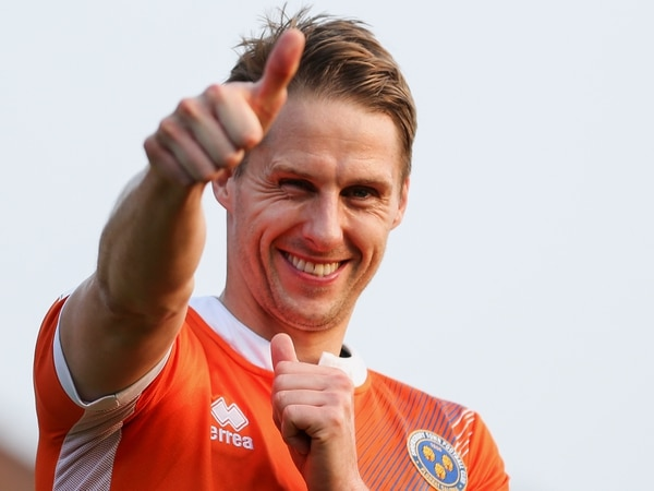 Dave Edwards has returned to full training with Shrewsbury Town