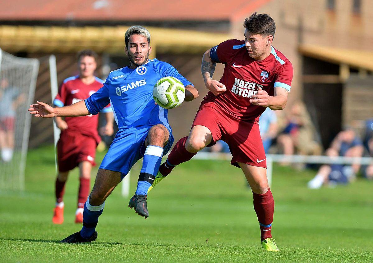 Dawley FC in action