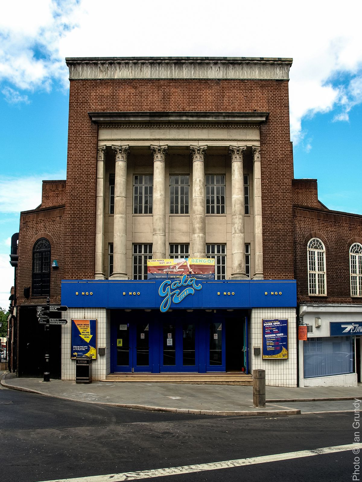 The Grade II-listed former Granada cinema in Shrewsbury