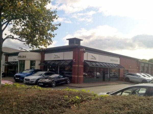 Hatfields Jaguar site in Shrewsbury goes on the market