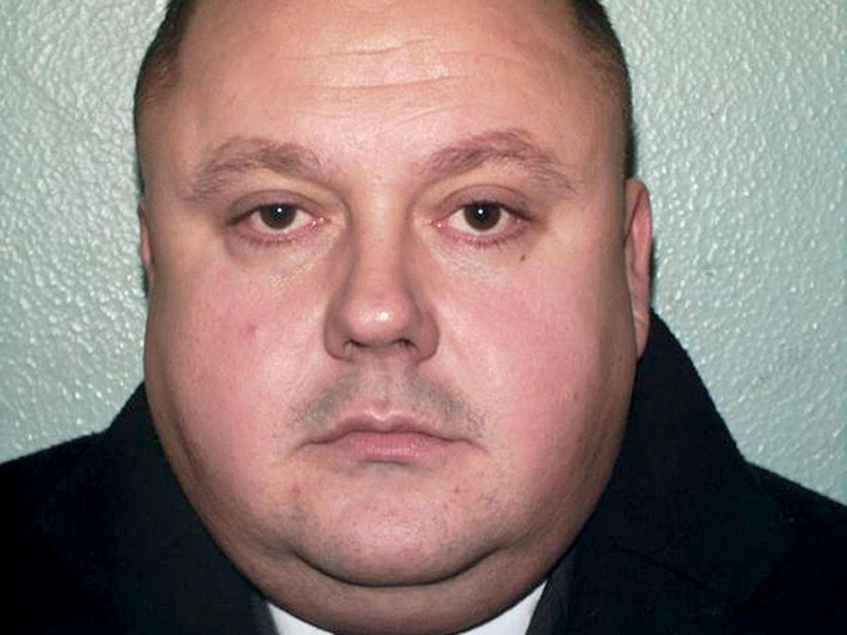 Police identification photo of serial killer Levi Bellfield