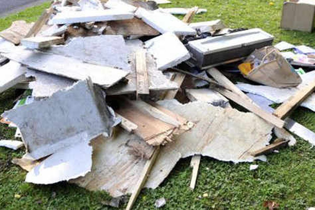 Fly-tippers strike 13 times a day in Shropshire