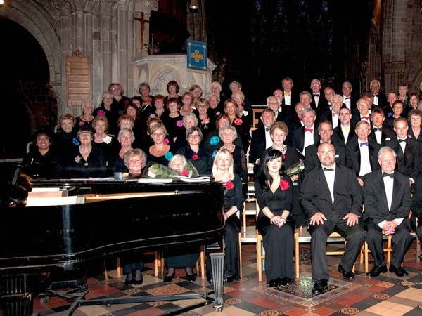 Shrewsbury Choral Society to perform at church