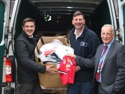 Counterfeit goods seized in Mid Wales get a new life