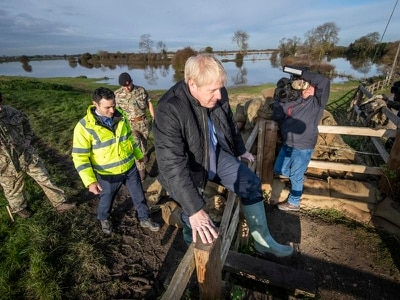 Campaign highlights: PM visits flood-hit areas as parties seek knockout blow