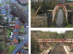 Old footbridge near Oakengates Station
