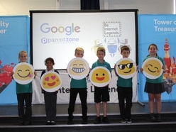 Internet safety child's play for Telford youngsters