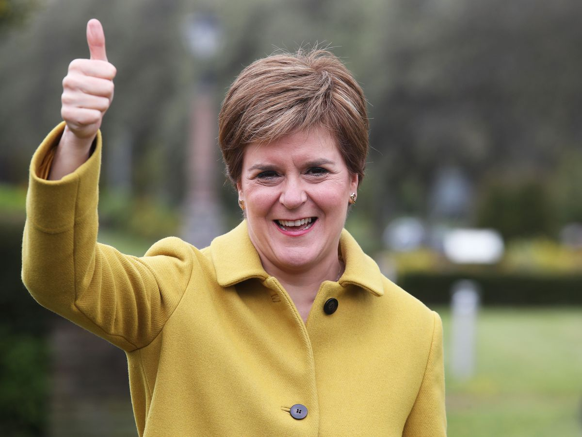 Scottish First Minister and SNP leader Nicola Sturgeon has spoken to Prime Minister Boris Johnson after her election win