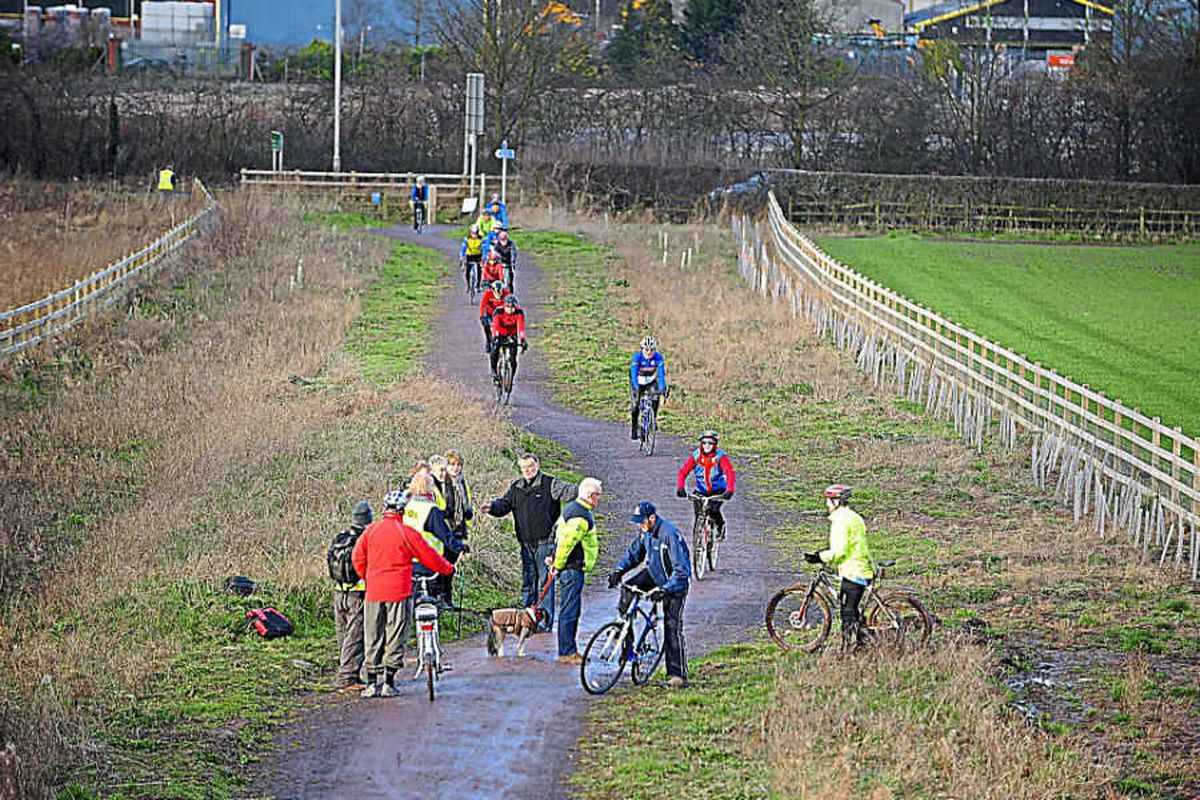 Bid to block building on old Shropshire rail route