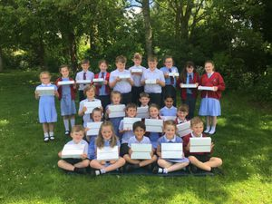 Tibberton Primary School pupils delighted to receive new class iPads