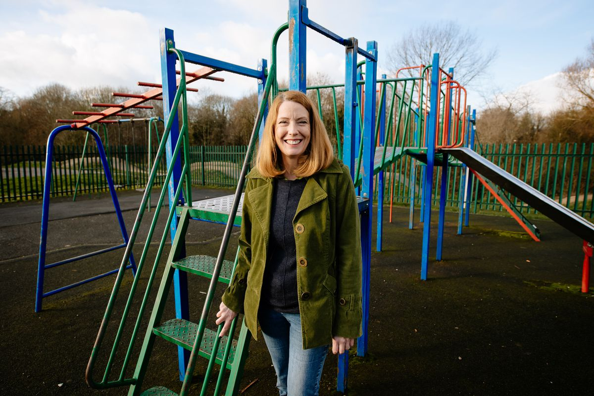 Councillor Gwen Burgess is encouraging suggestions for the Mary Webb Road play park in Meole Brace after funding was granted