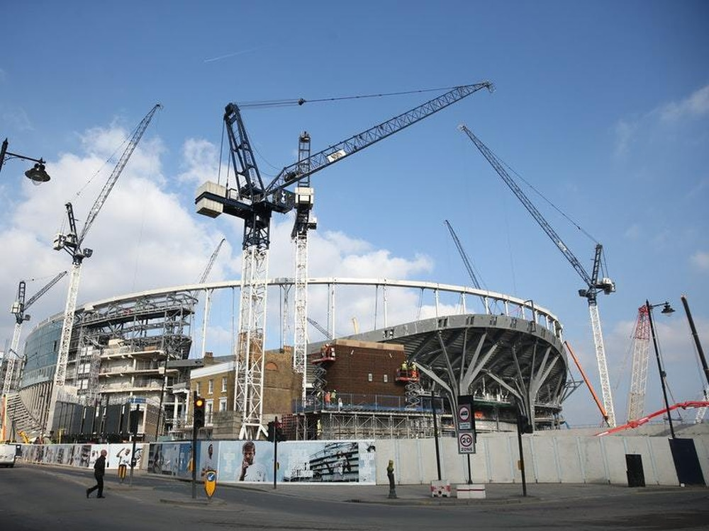 Tottenham's new stadium will not be ready for next month's planned opening