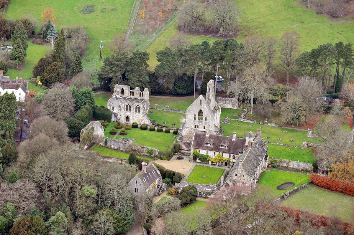 Wenlock Abbey was another casualty of Henry's split with the Catholic church