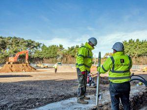 EvaBuild workers on site