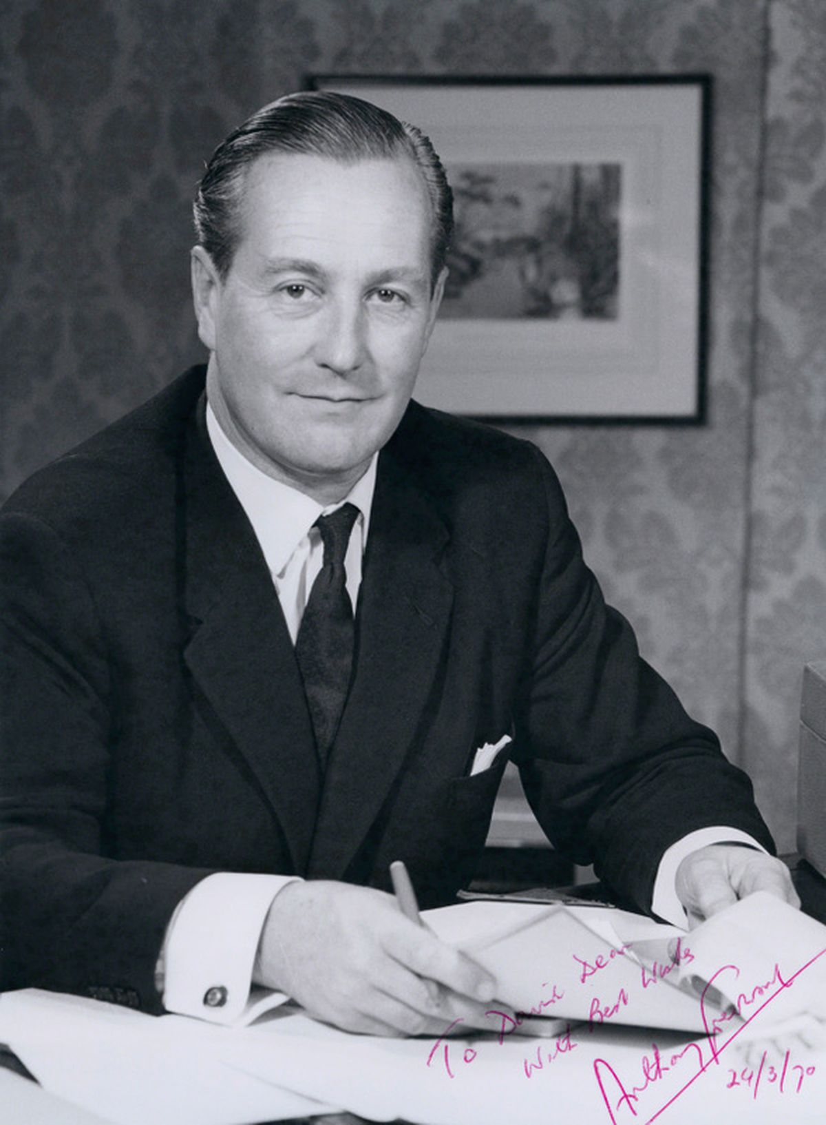 Anthony Greenwood served in Harold Wilson's 1960s Labour government.