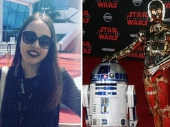 Trainee lands 'dream' job on latest Star Wars film - and gets to meet cast