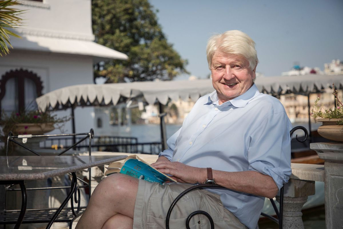 Stanley Johnson can still go to Greece to maintain his home out there