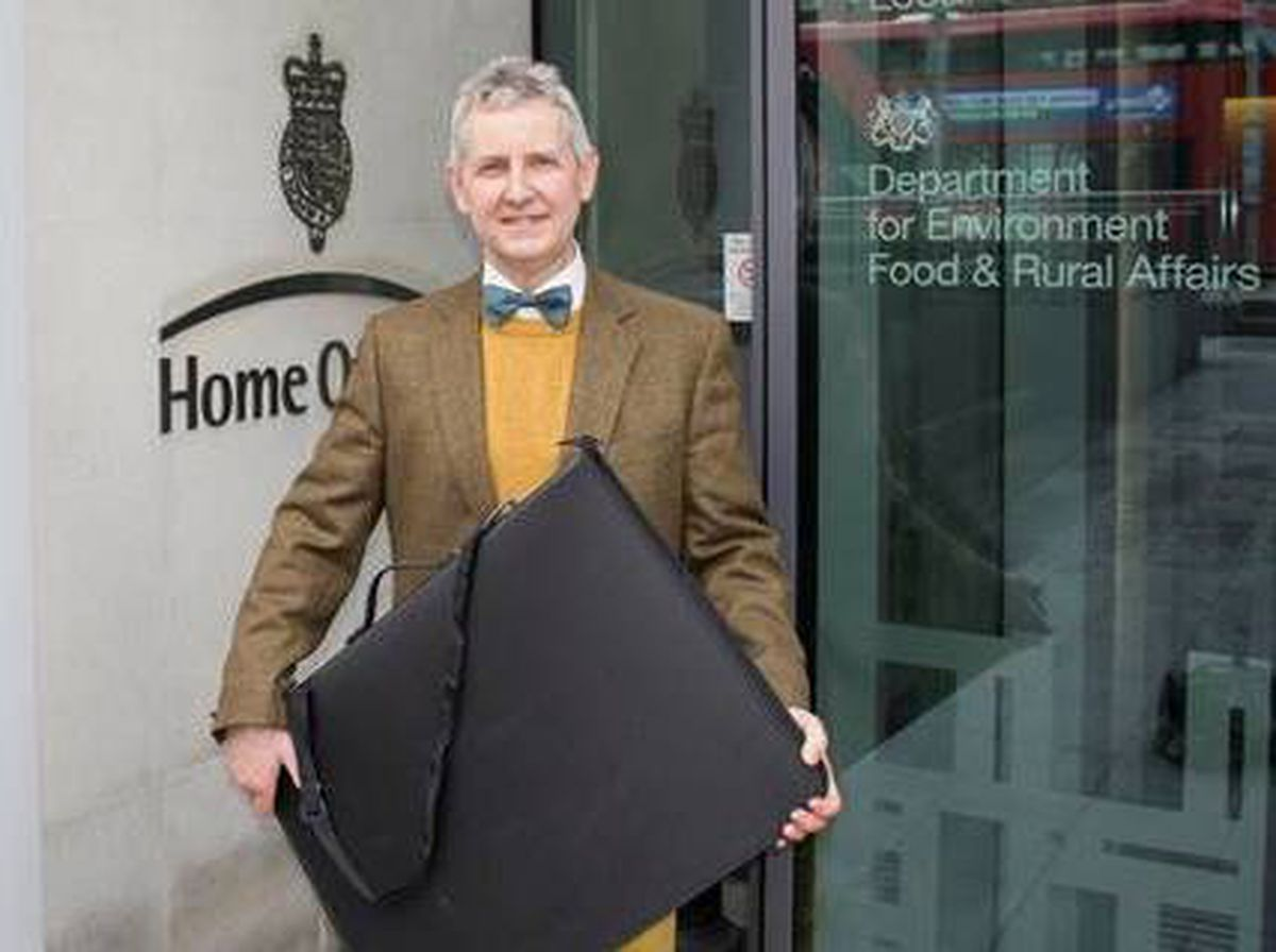 British Ironwork Centre's anti-knife campaign goes to the Home Office