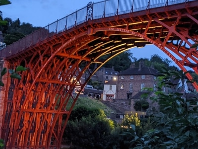 Iron Bridge to light up this weekend as part of World Heritage celebrations