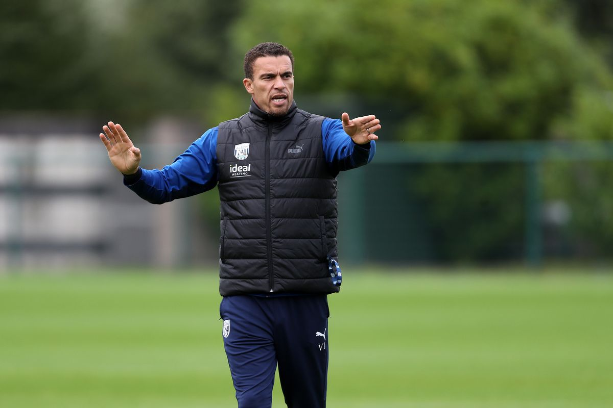 WALSALL, ENGLAND - OCTOBER 13: .Valerien Ismael Head Coach / Manager of West Bromwich Albion at West Bromwich Albion Training Ground on October 13, 2021 in Walsall, England. (Photo by Adam Fradgley/West Bromwich Albion FC via Getty Images).