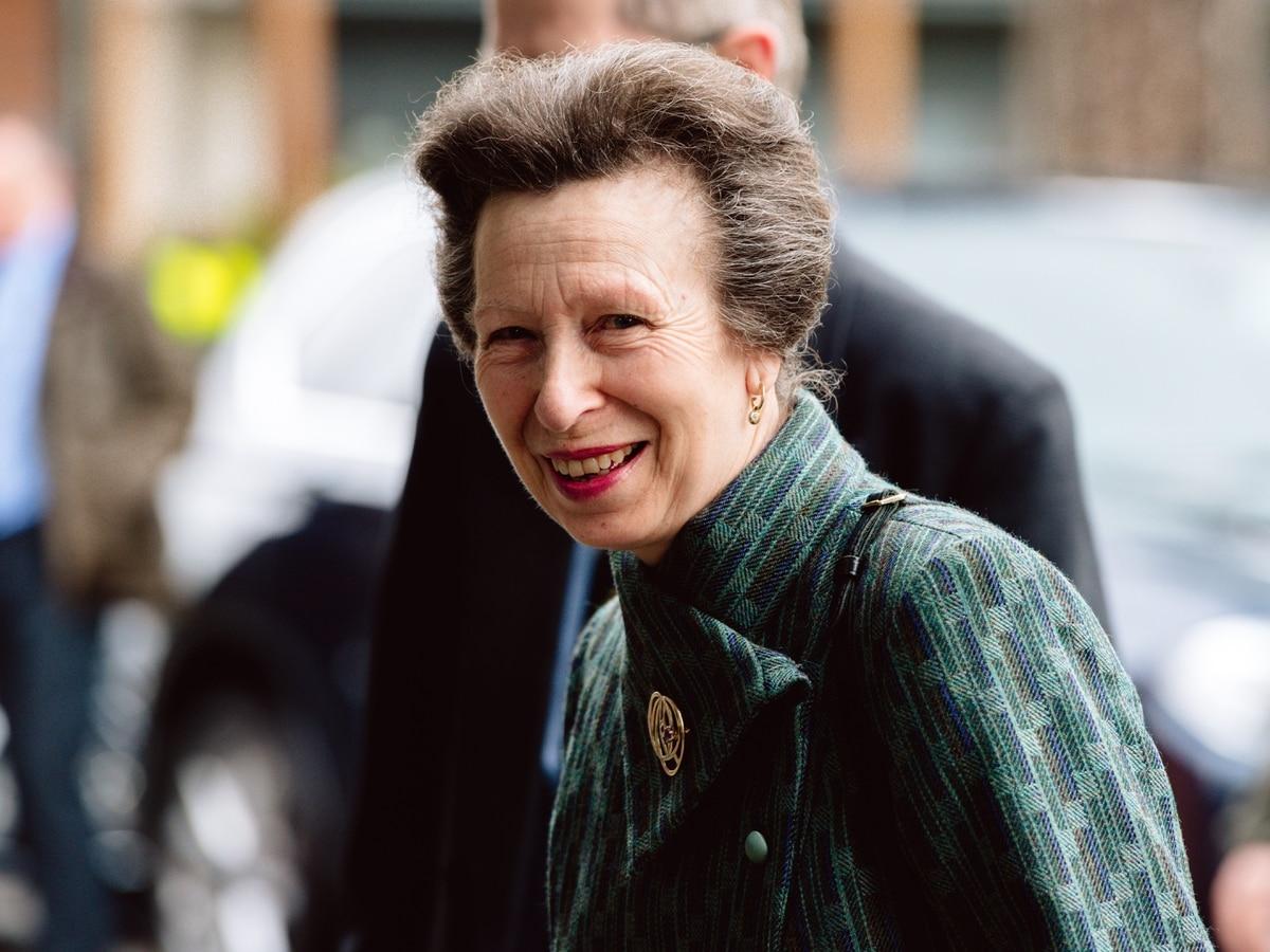 Princess Anne Visiting Shropshire Today Shropshire Star