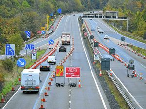 Stretch of M54 to close overnight for six weeks