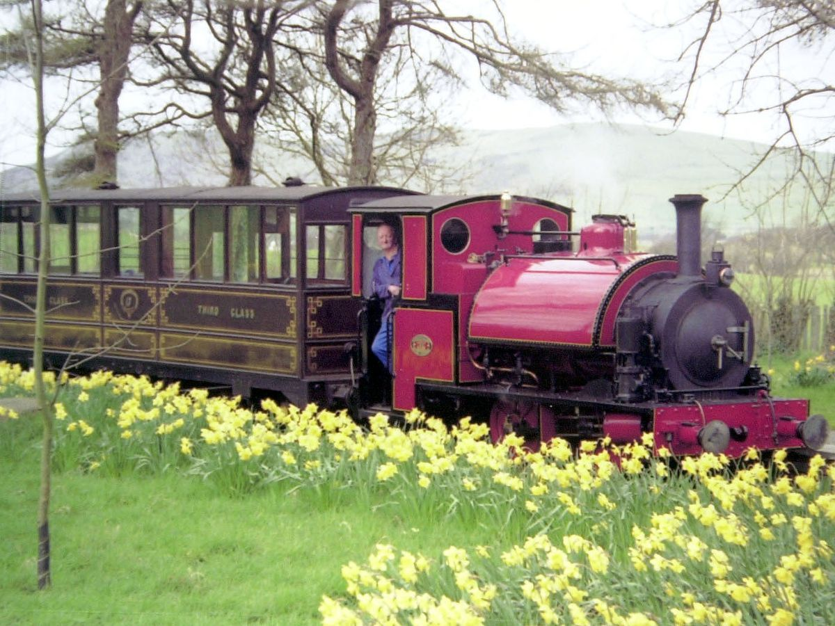 With story/copy pic. Corris Railways grand re-opening, where their will be steam specials to mark the occasion. XXXX