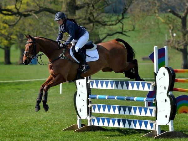 Royal Zara saddles up for Weston Park horse trials