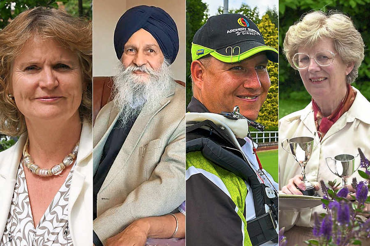 New Year's Honours: Shropshire and Mid Wales people recognised
