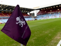 Flagging up support at Villa Park for finale