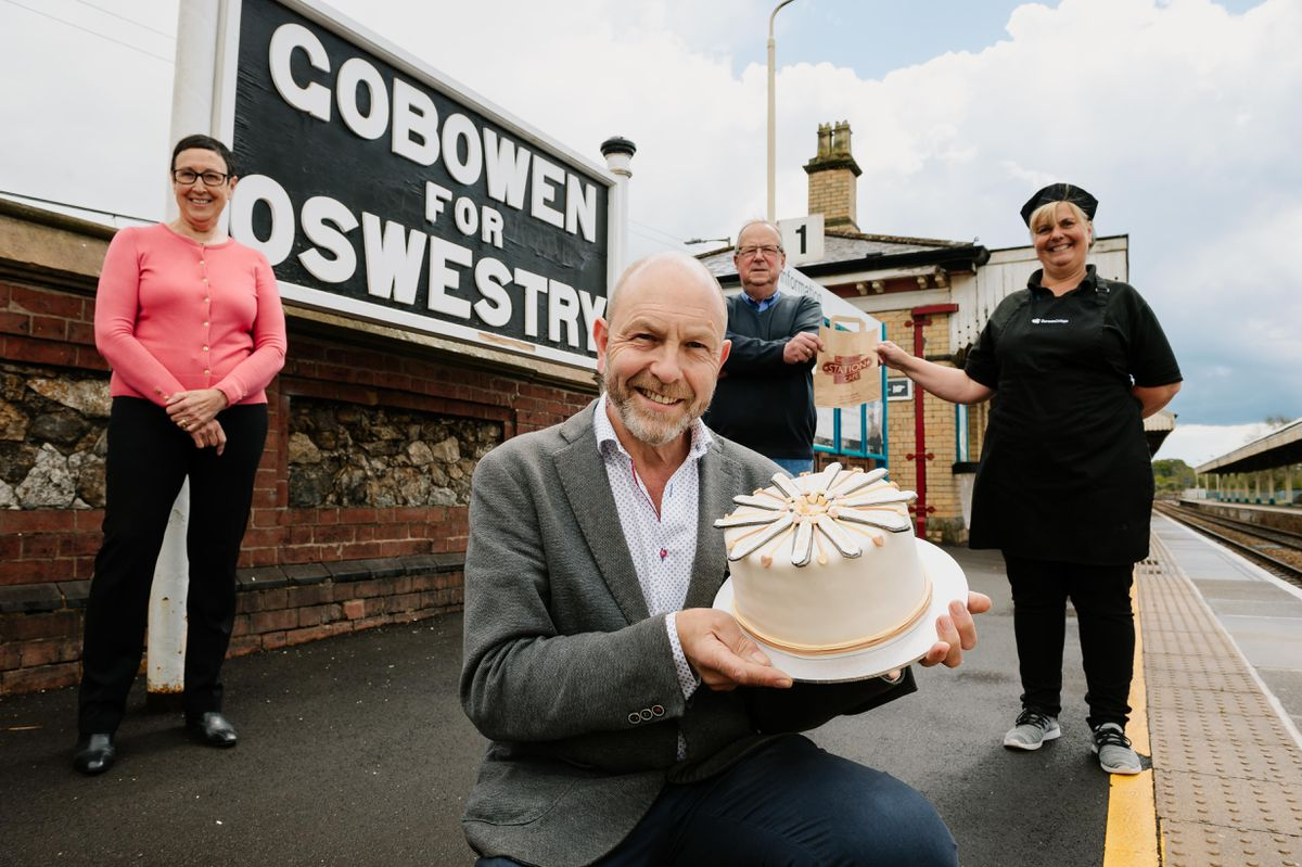 The Gobowen Railway station cafe has reopened now lockdown restrictions have eased