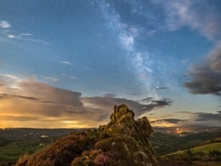 Serendipity and stars: The Milky Way above the Stiperstones
