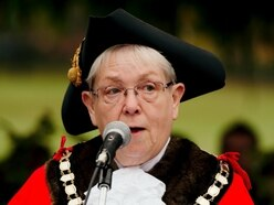 Oswestry mayor hails council's achievements over past year