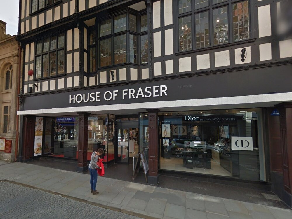 House of fraser to shut shrewsbury and telford stores as for Quality classic house of fraser