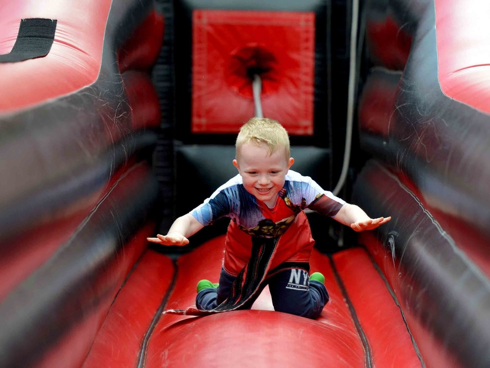 Birthday fun in the sun at Telford park marks St George's Day