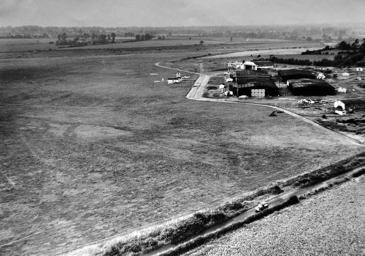 Wolverhampton airport at Pendeford closed 50 years ago.