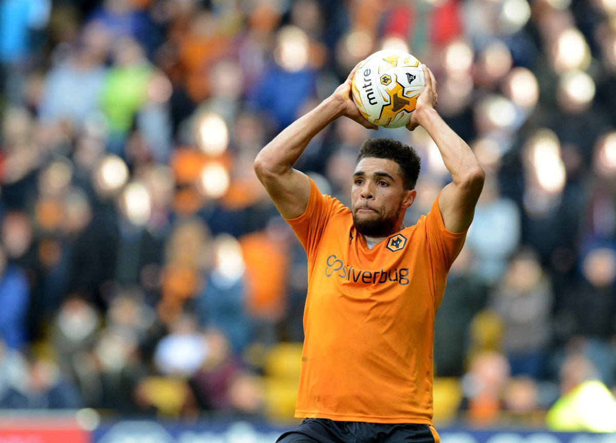 The left-back in action for former club Wolves, where he was a fans' favourite (AMA)