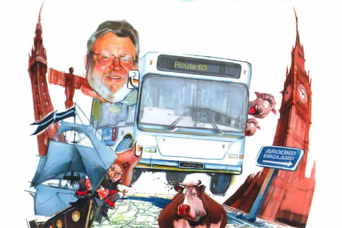 Dave's tour of England . . . on a free buss pass