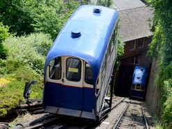 Passengers stranded 30ft up Bridgnorth cliff for almost an hour due to fault