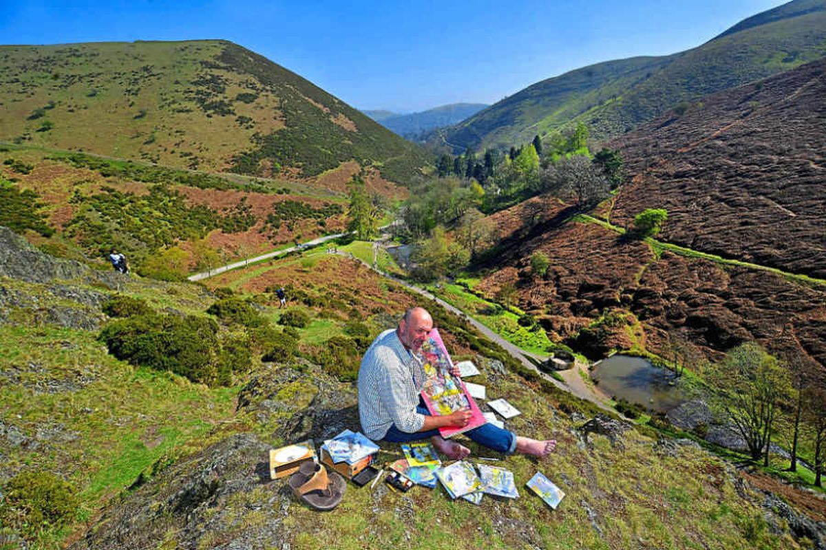 Interactive art events come to the Shropshire Hills