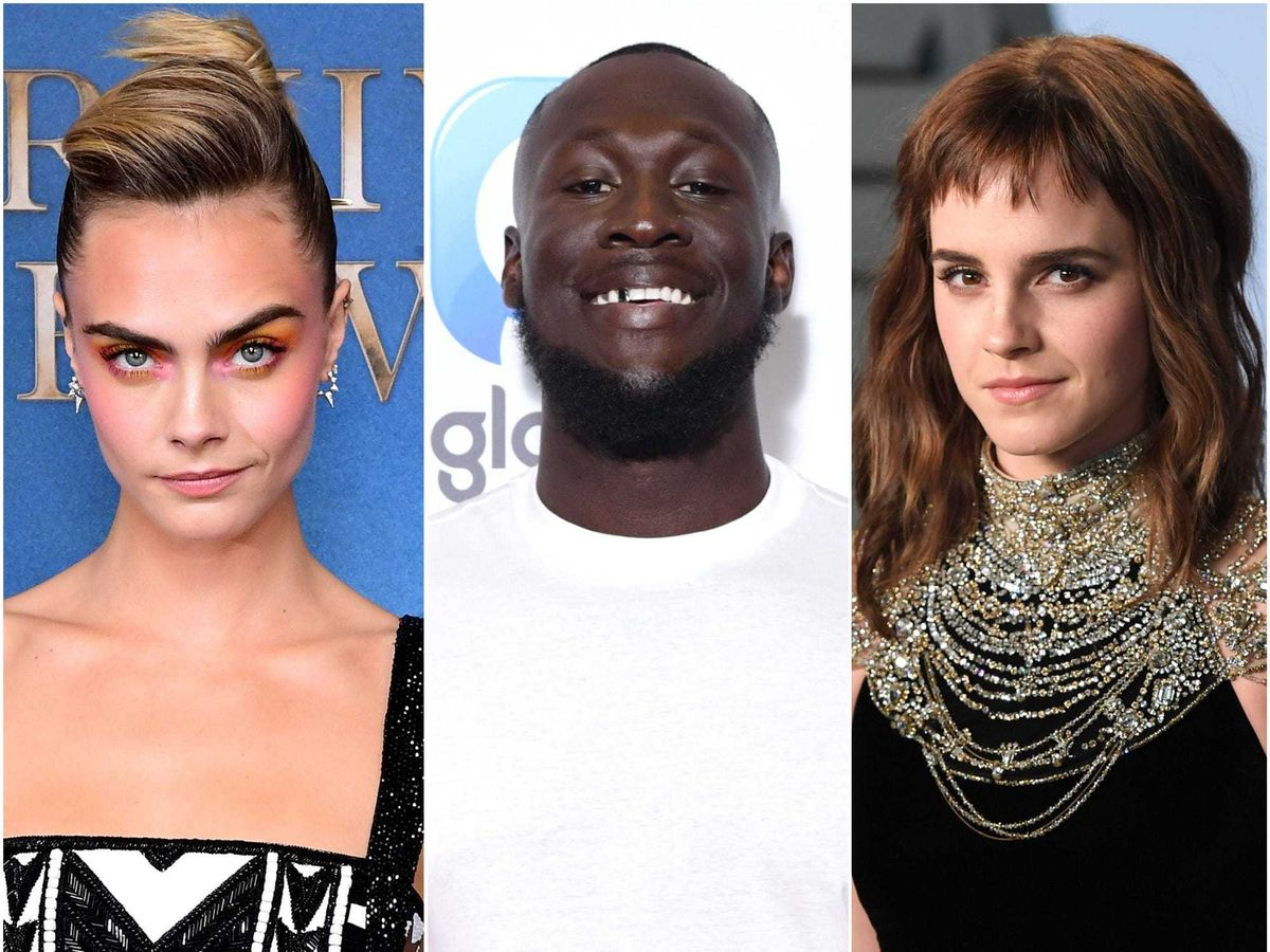 Cara Delevingne, Stormzy and Emma Watson have all made Heat magazine's annual rich list for celebrities under 30