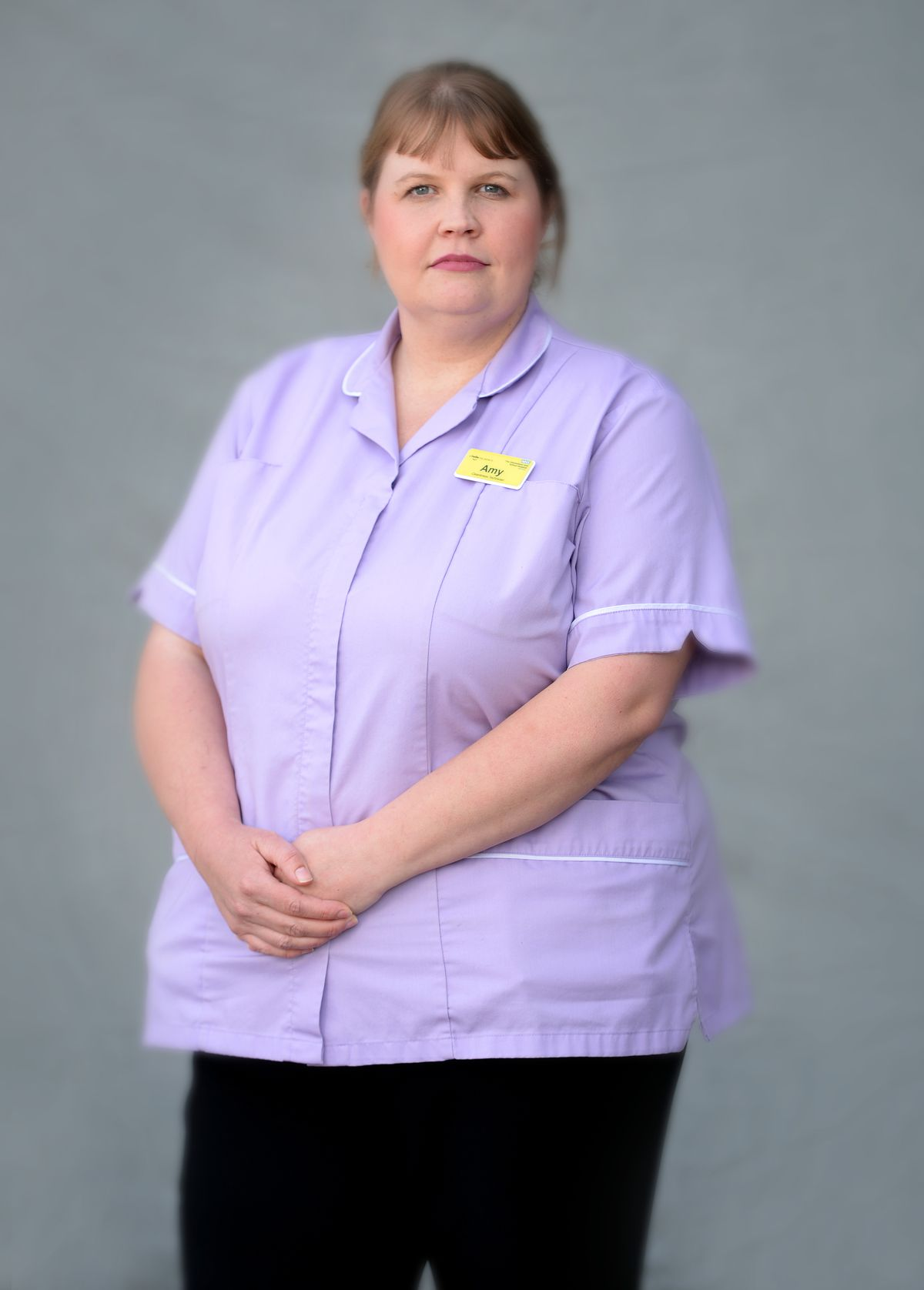 Amy Middle, cleanliness technician