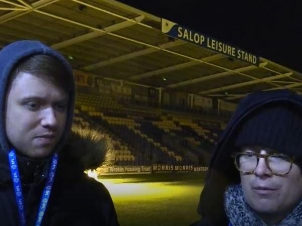 Shrewsbury Town 3 Macclesfield 1: David Verman and Lewis Cox analysis - WATCH