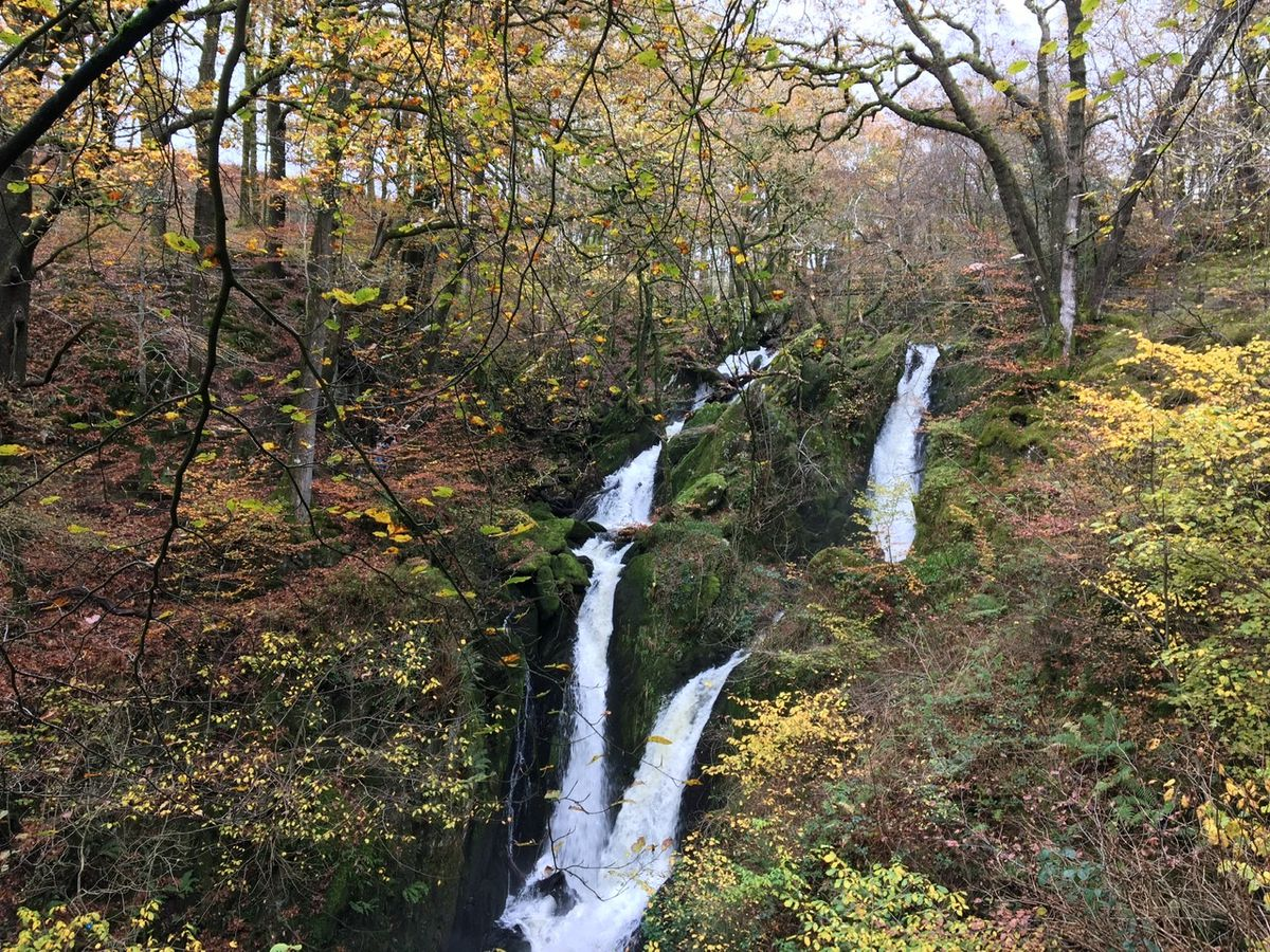 The magnificant Stockgyll waterfall
