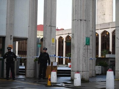 Homeless man appears in court charged with mosque knife attack