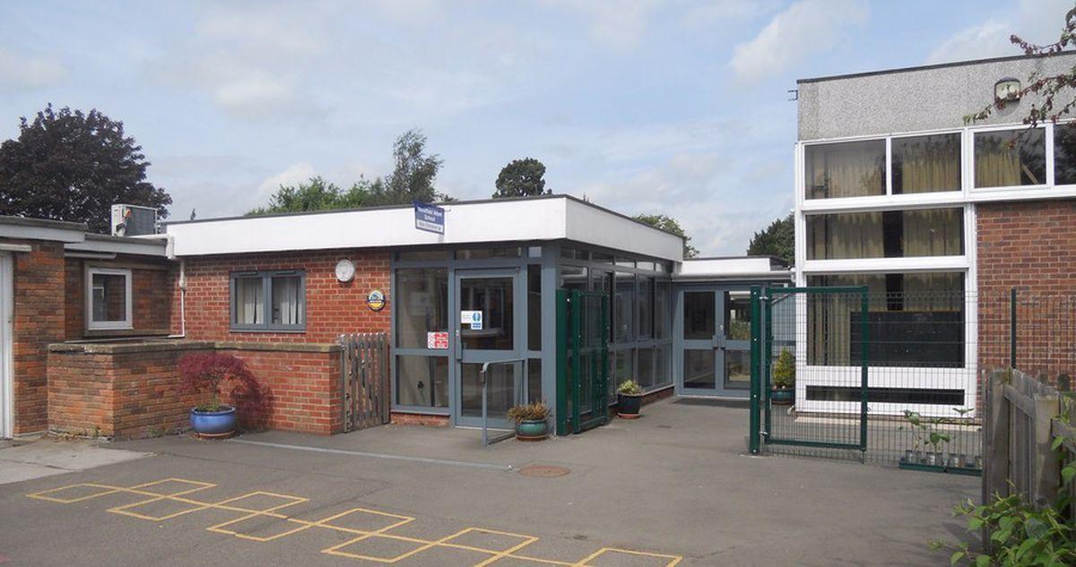 Woodfield Infant School in Shrewsbury
