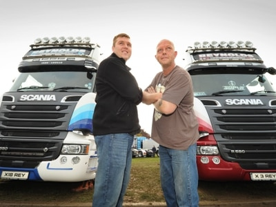 Trucking fans head to Oswestry for Trucking Live - in pictures